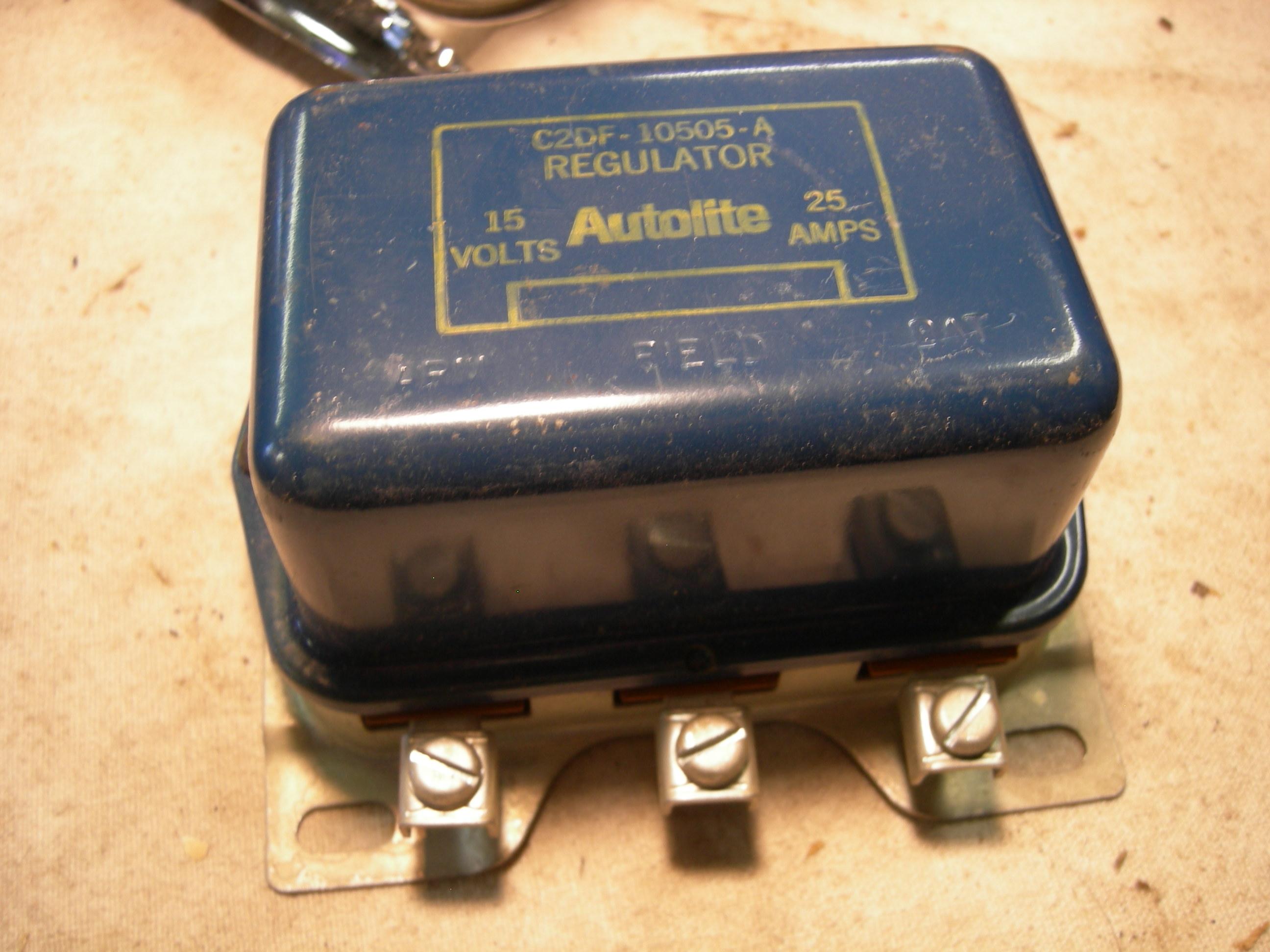 Search Results 1980 Ford Bronco Voltage Regulator 1962 65 Falcon Fairlane Nos C2df 10505 A