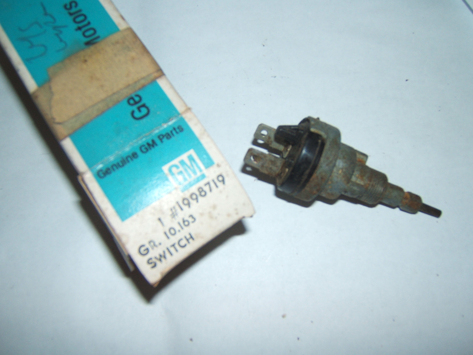 Nos Vintage Windshield Wiper Motors And Parts This Is Gooda Vaccuum Switch Cable Operated There No 1959 63 Pontiac 1998719