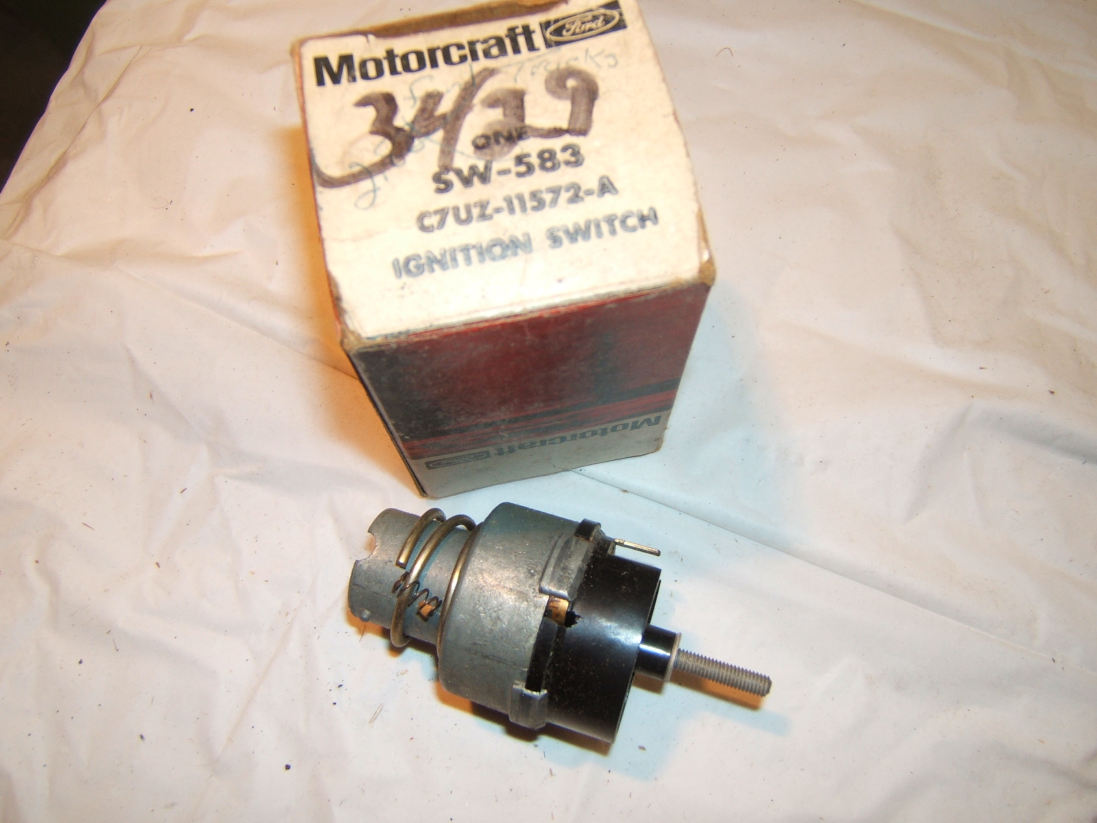1960 -66 Ford Mercury Lincoln ignition switch nos autolite ( a c7uz11572a)