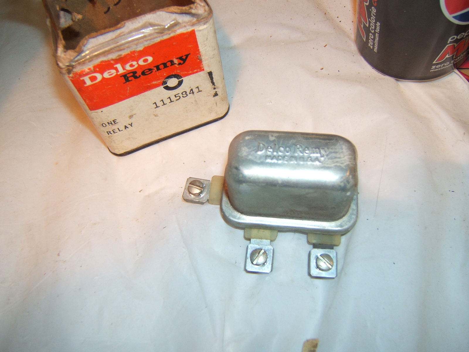 1954-1972 Chevrolet Buick Oldsmobile Pontiac Cadillac relay 1115841 (a 1115841)