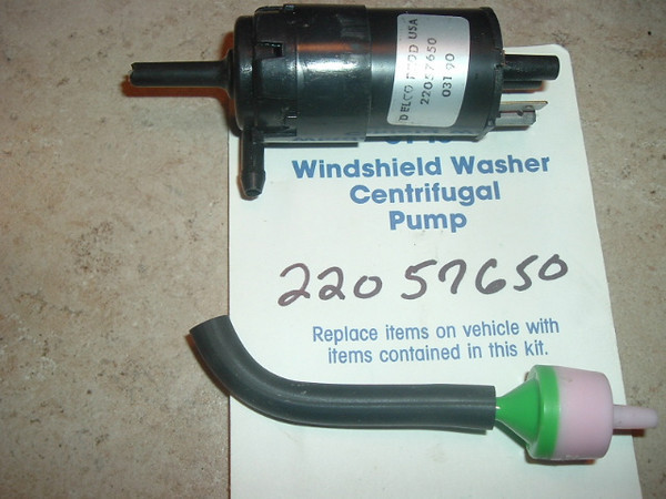 1979-91 Chevrolet GM Jaguar Windshield Washer Pump NEW (61-15)