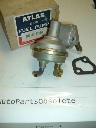 1967-68 chevrolet Camaro Chevelle 396 new fuel pump #40468