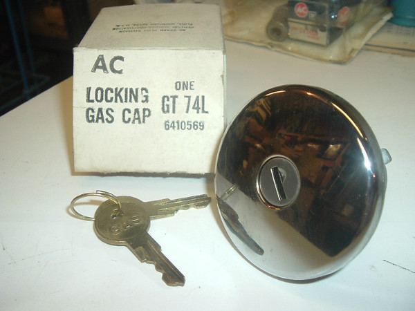 1971 1972 1973 1974 chevrolet  locking gas cap (a gt74l)