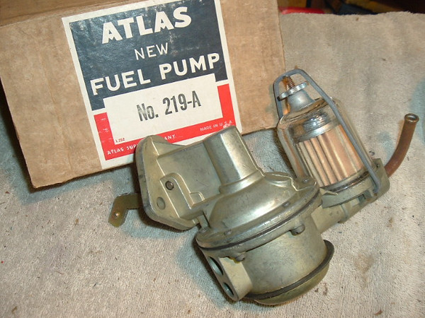 1964 65 Rambler new glass bowl fuel pump (A 219 new atlas)