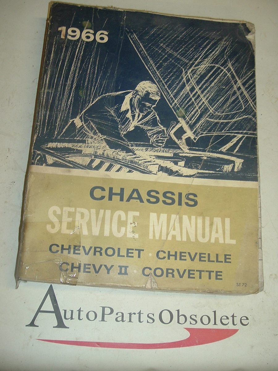 1966 Chevrolet shop manual (A 1966chev