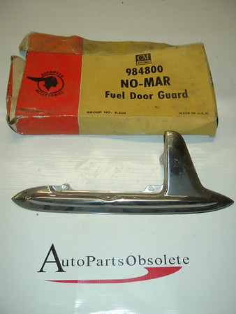 1953 1954 Pontiac NOS NO-Mar fuel door guard accessory 984800