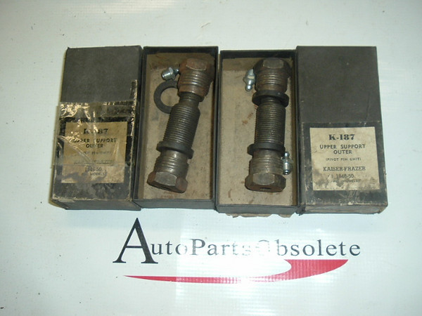 1946 - 50 Kaiser Frazer suspension pivot pin set K187 (A k187)