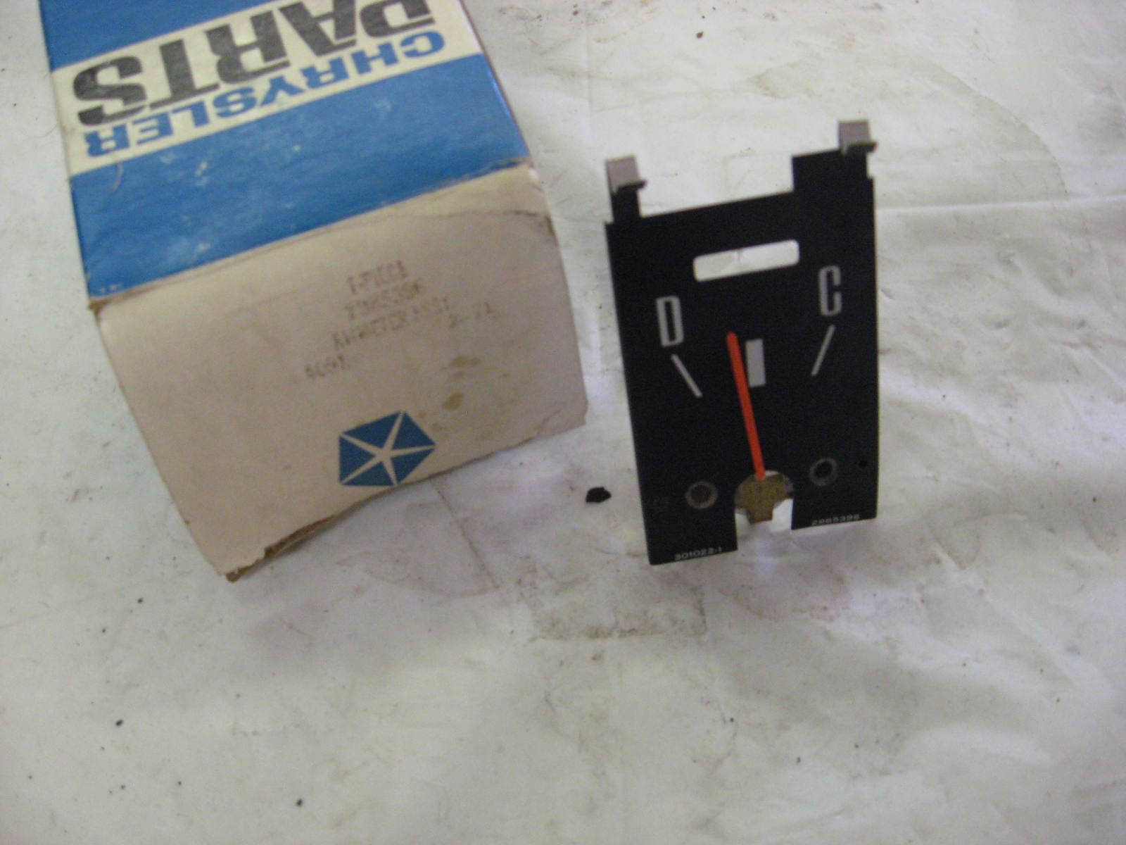 1971-4 Charger Roadrunner satellite ammeter nos 2985396 (a 2985396)
