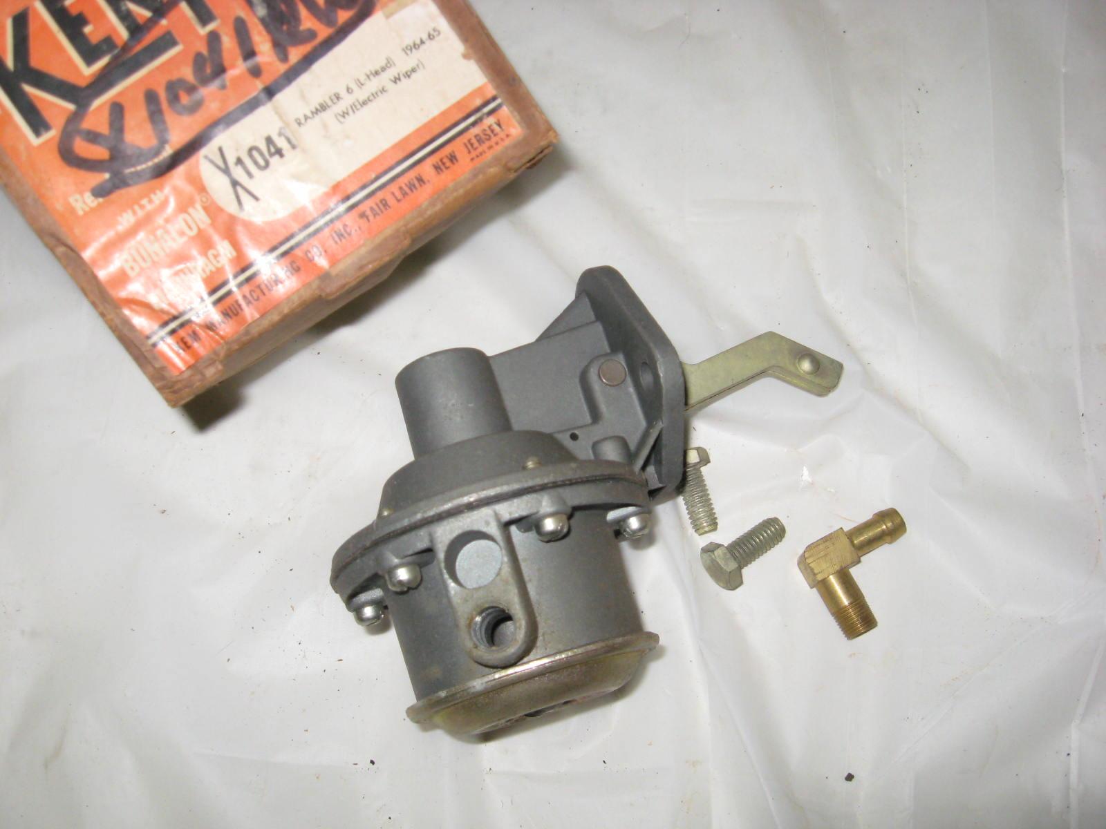 1964 1965 Rambler 196 L Head fuel pump 1041 (A X1041RW)