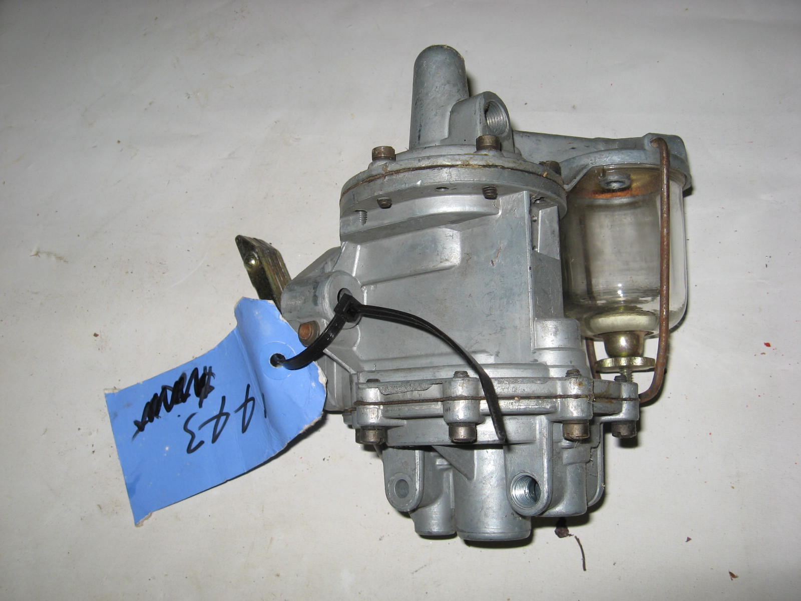 1949,1950 ford fuel pump 6cyl dbl action #9443 (a 9443nw)