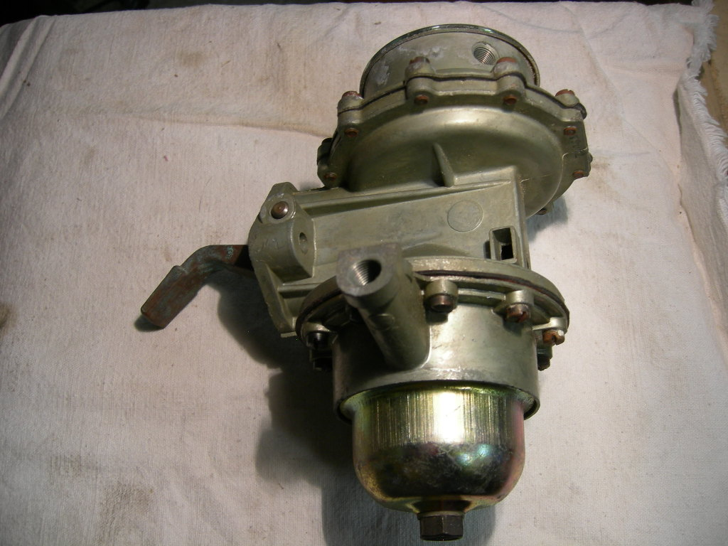 1950 Rambler fuel pump 6cyl double action (A 7406wn)