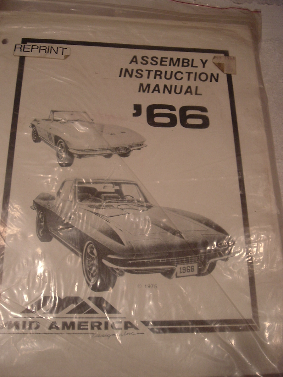 1966 Corvette assembly manual (a 66vt asm man)