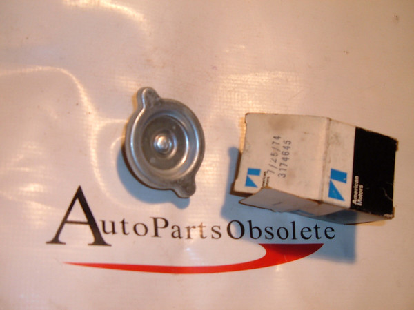 View Product1965,1967,1969,1971,1973,1975 rambler amc oil filler cap nos american motors # 3174645 (z 3174645)