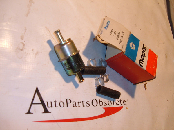 1980,1983,1985,1988,1989 dodge ,plymouth, chrysler fuel filter nos mopar # 4186209 (z 4186209)
