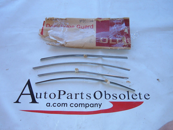 1965 oldsmobile 98 accessory door edge guards NOS gm # 982514 (z 982514)
