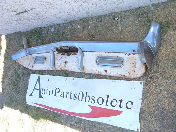 1961 oldsmobile rechromed rear bumper 6 parts (z 1961 oldsmobile rear bumper)