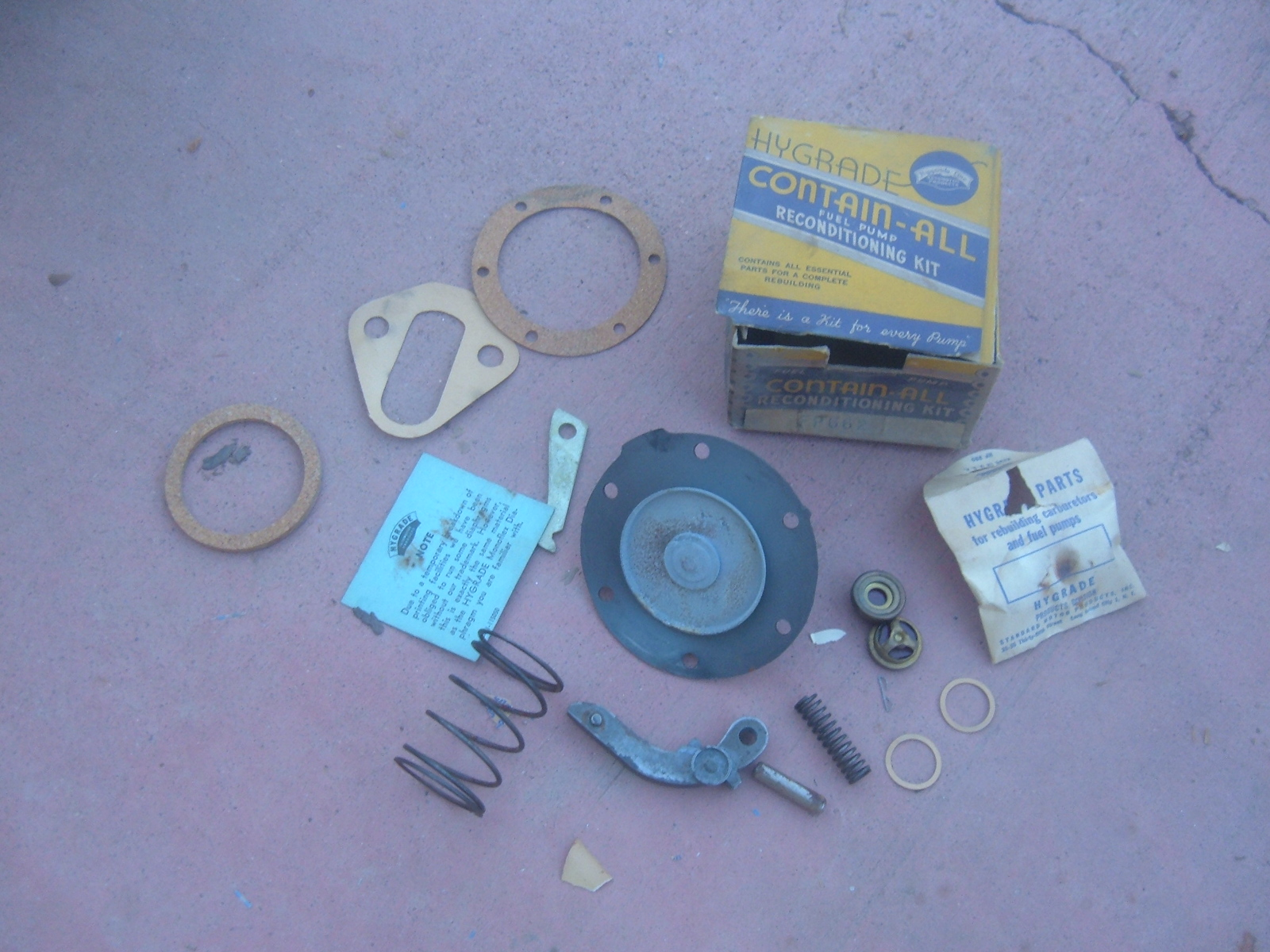 1937 1938 buick fuel pump rebuild kit kit # FP662