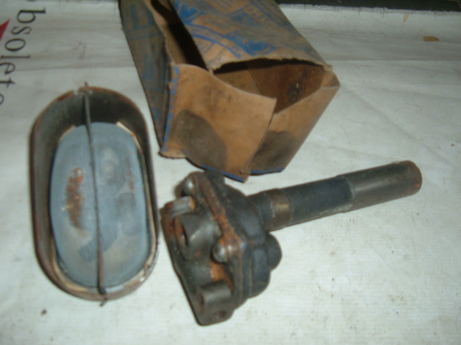 1935 chevrolet engine oil pump nos gm 604509 (z 604509)