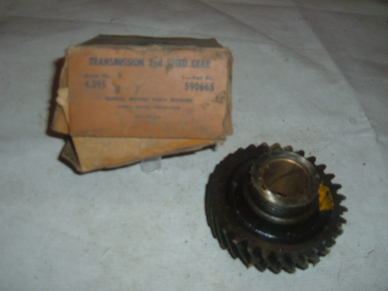 1933 34 35 36 chevrolet 2nd gear transmission nos gm # 590665 (z 590665)