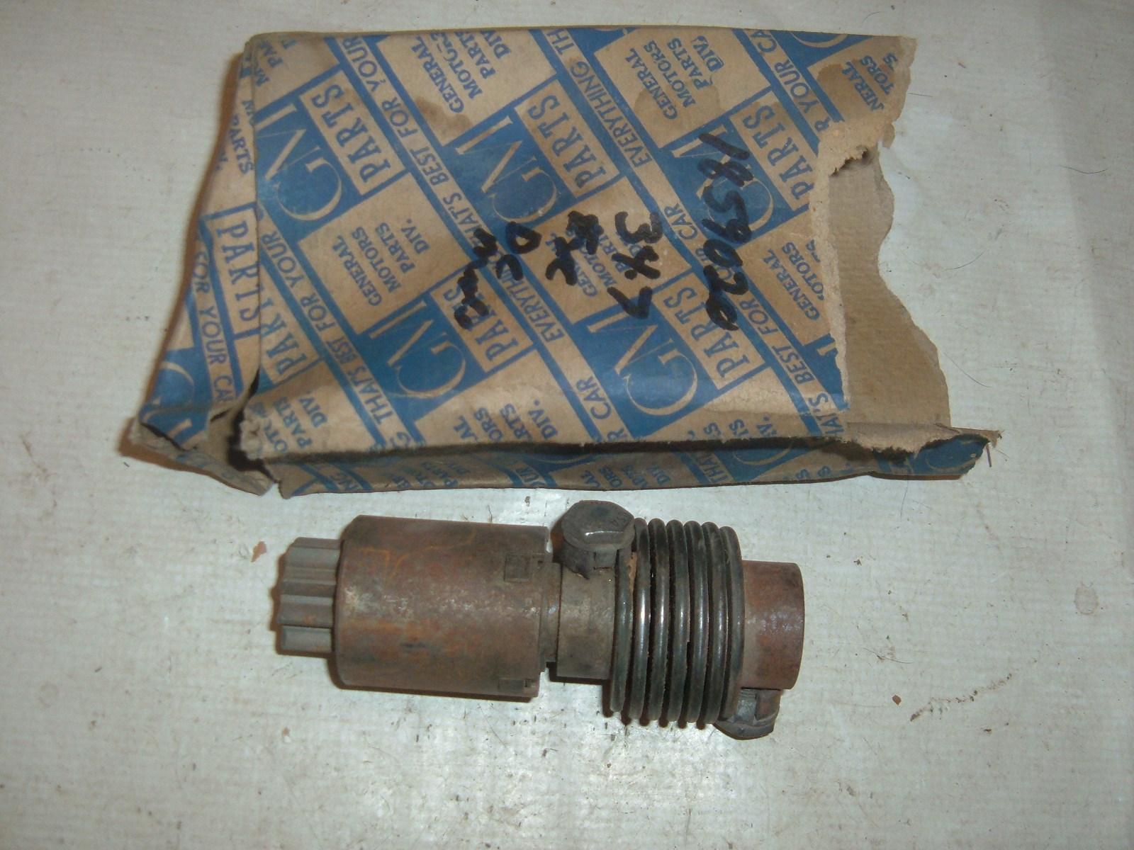 View Product1934 35 36 37 39 42 46 packard studebaker chevrolet starter drive nos # 1859020 (z 1859020)
