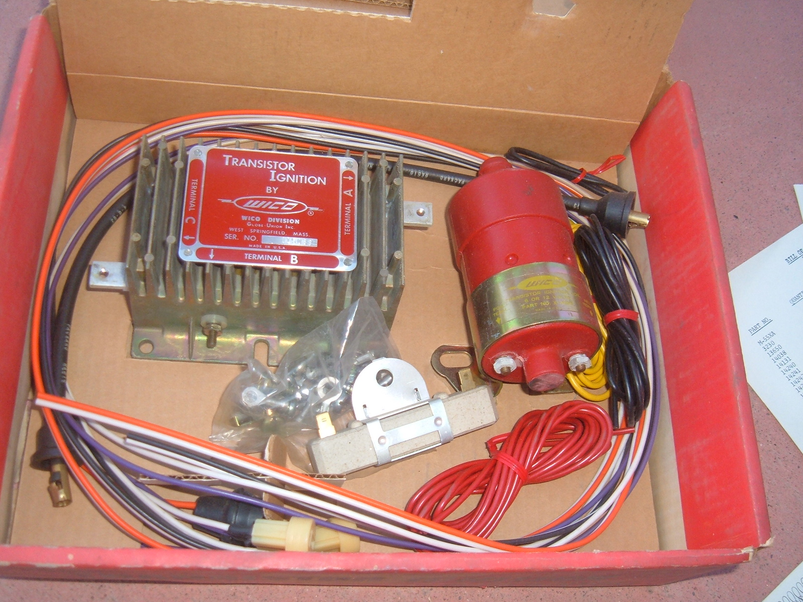 View Product1962 63 transistor ignition conversion kit vintage new (zh ti292)