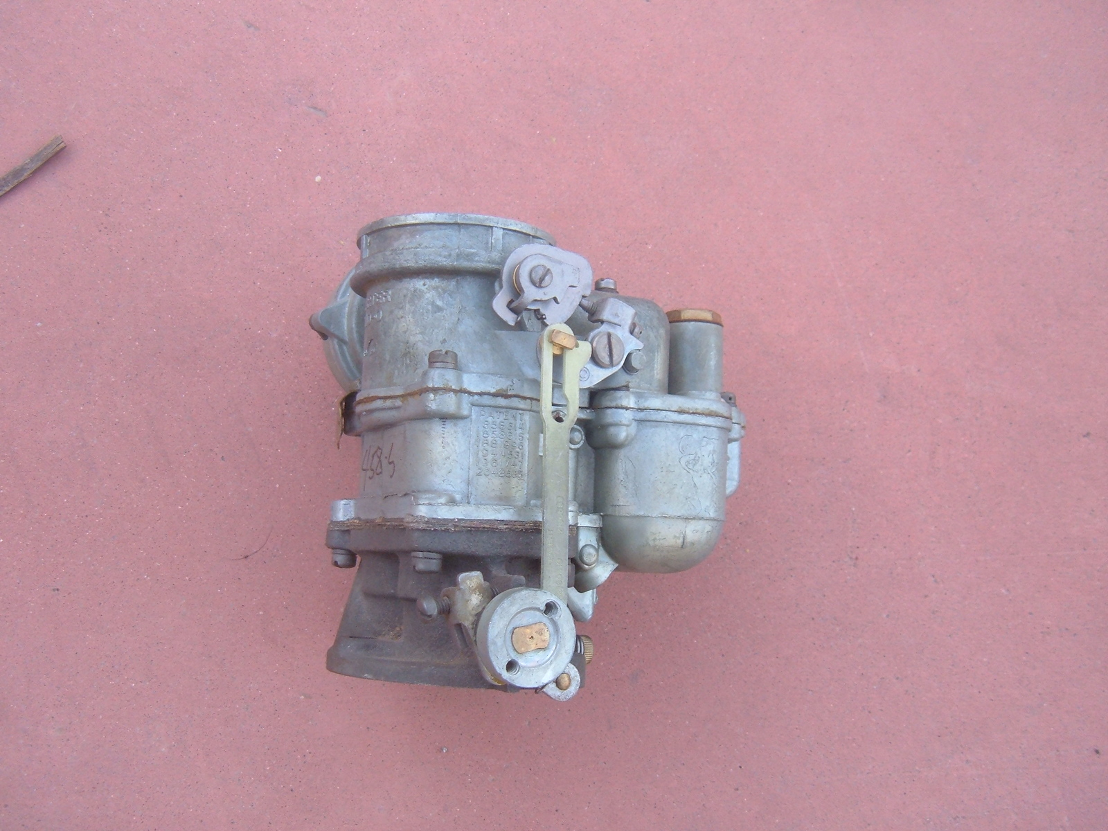 View Product1940 nash lafayette Carter rebuilt 2 barrel Carburetor part number 458-s (z 458)