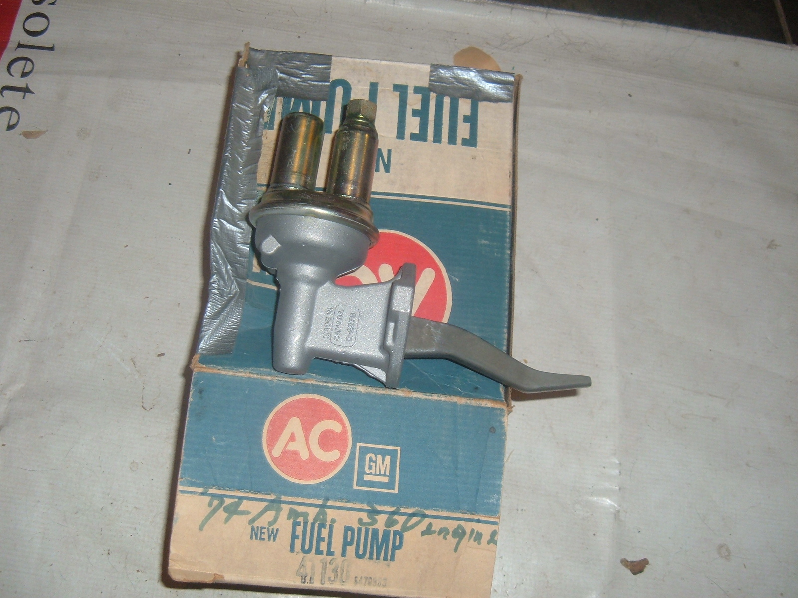 View Product1970 71 72 73 AMC Javelin Rebel v8 fuel pump ac delco 41130 (z 41130ac)
