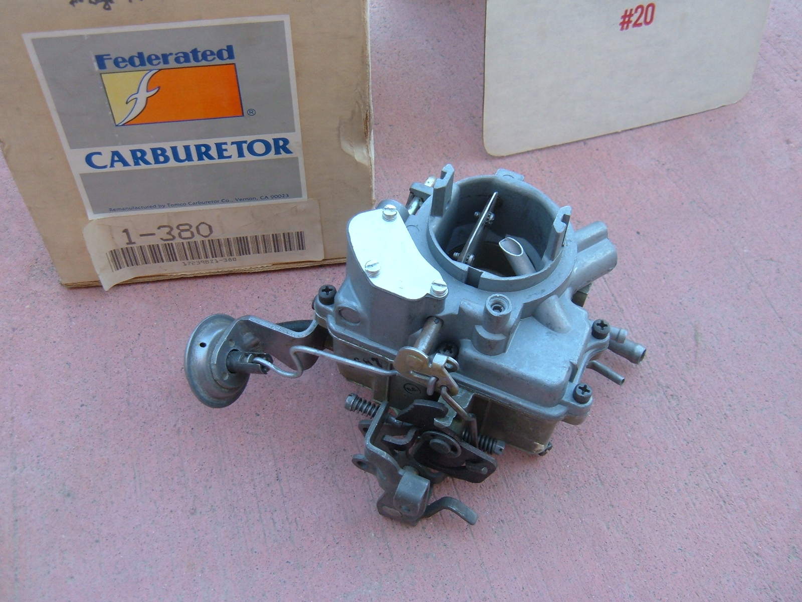 1974 dodge plymouth chrysler holley carburetor 1bar rebuilt dart valiant (zh 1-380)