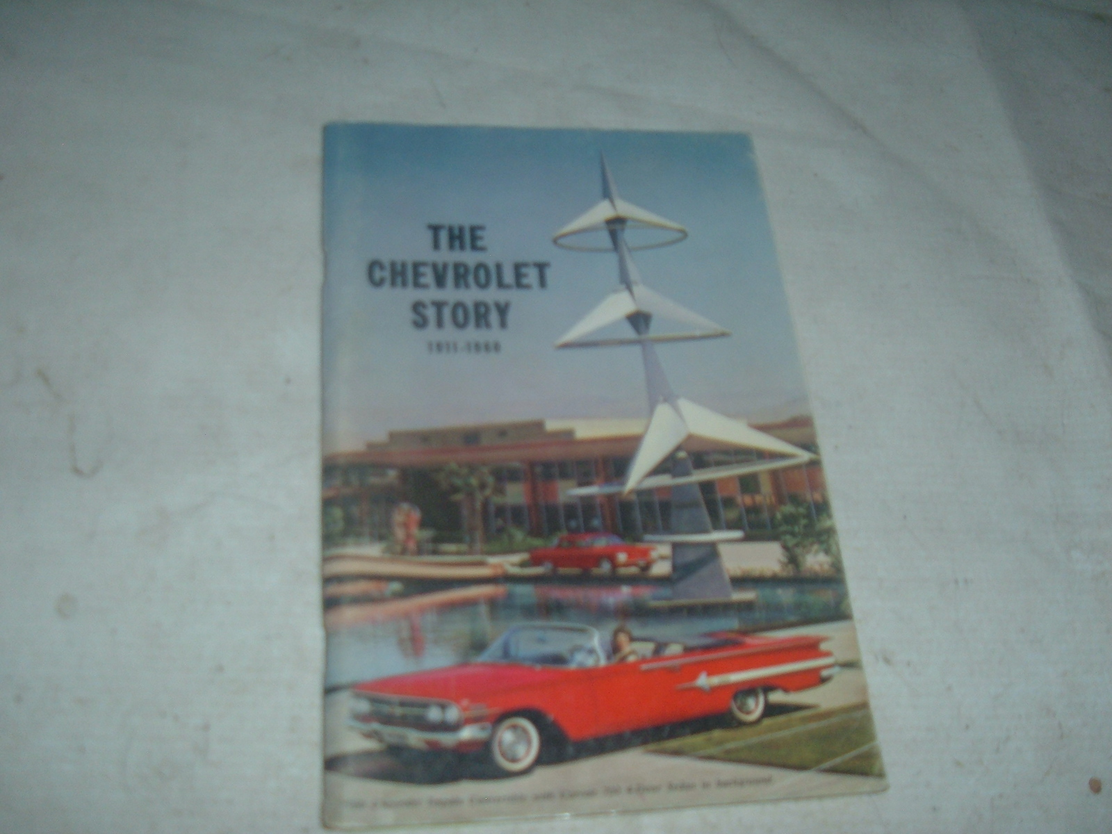 View ProductThe chevrolet story book 1911 thru 1960 original print impala corvette (z 60chevstory)