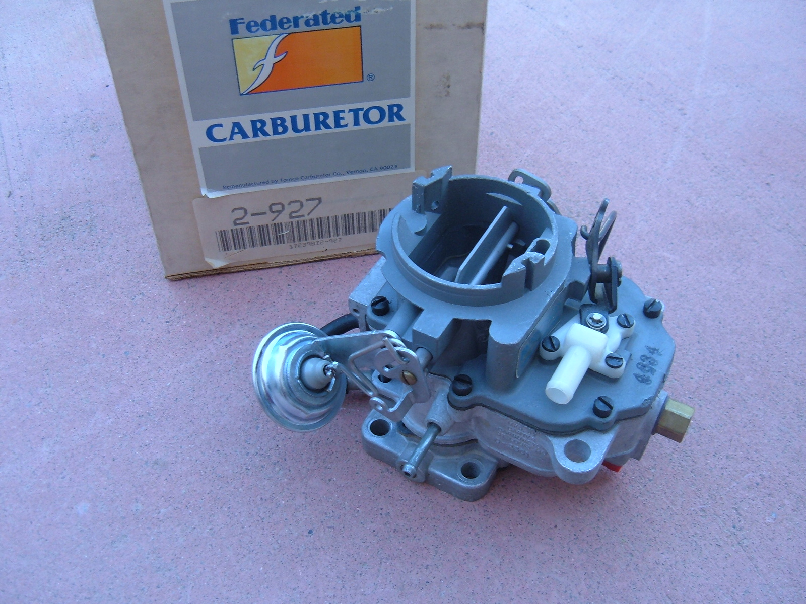 1973 dodge plymouth chrysler carter carburetor 2 bar rebuilt dart valiant (zh 2-927)