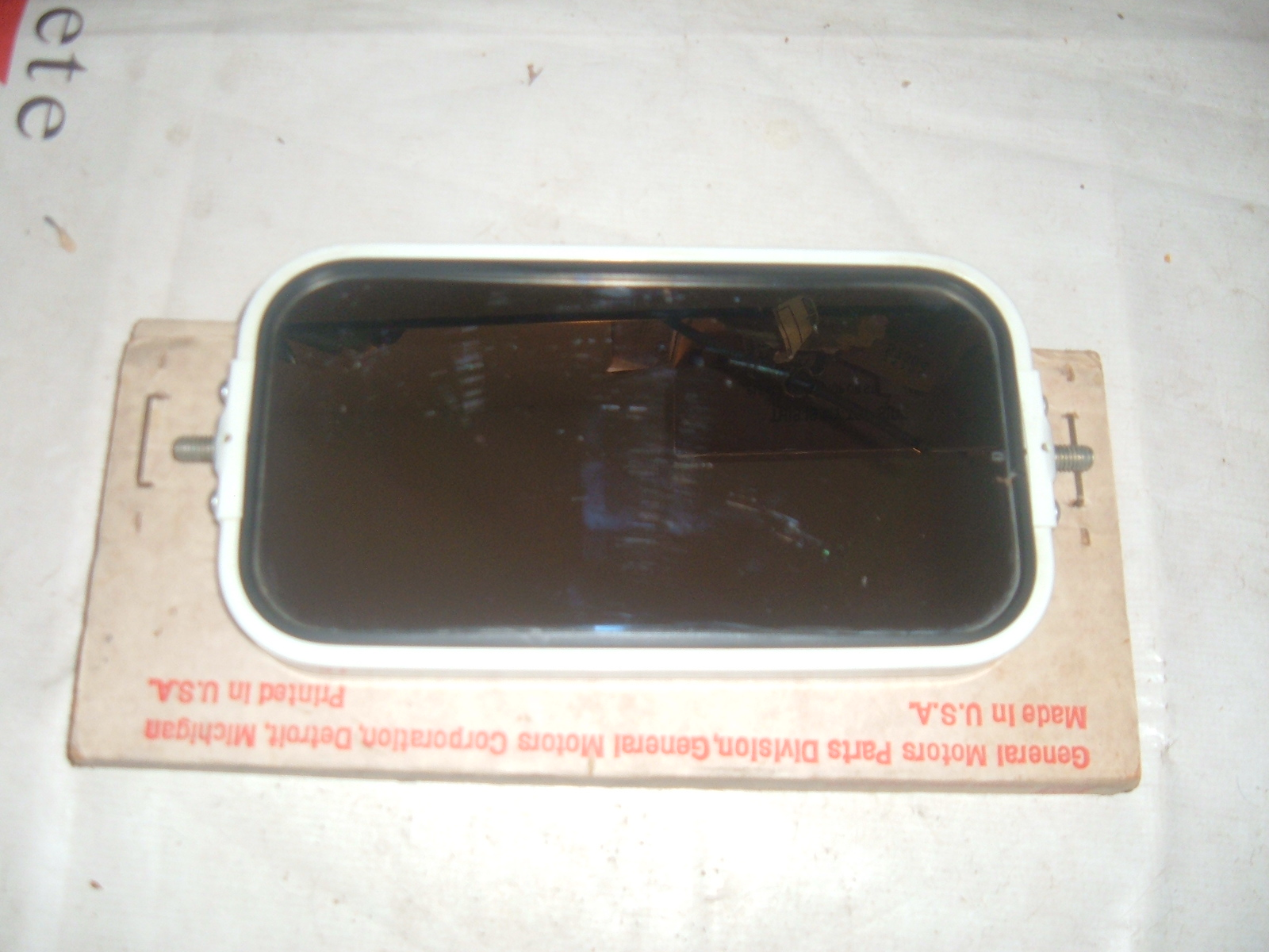 View Product1968 69 chevrolet truck door mirror nos gm 987393 (z 987393)