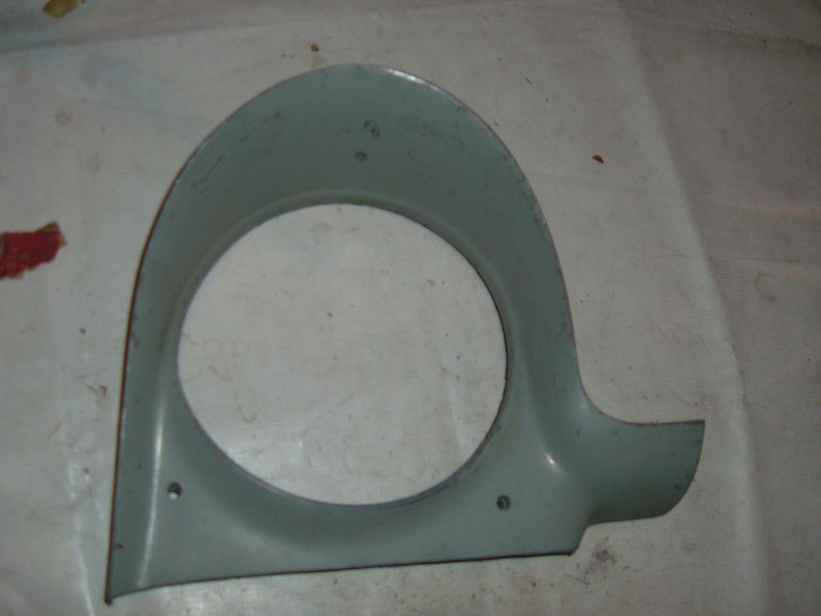1956 plymouth headlight bezel # 1604796 (z 1604796)