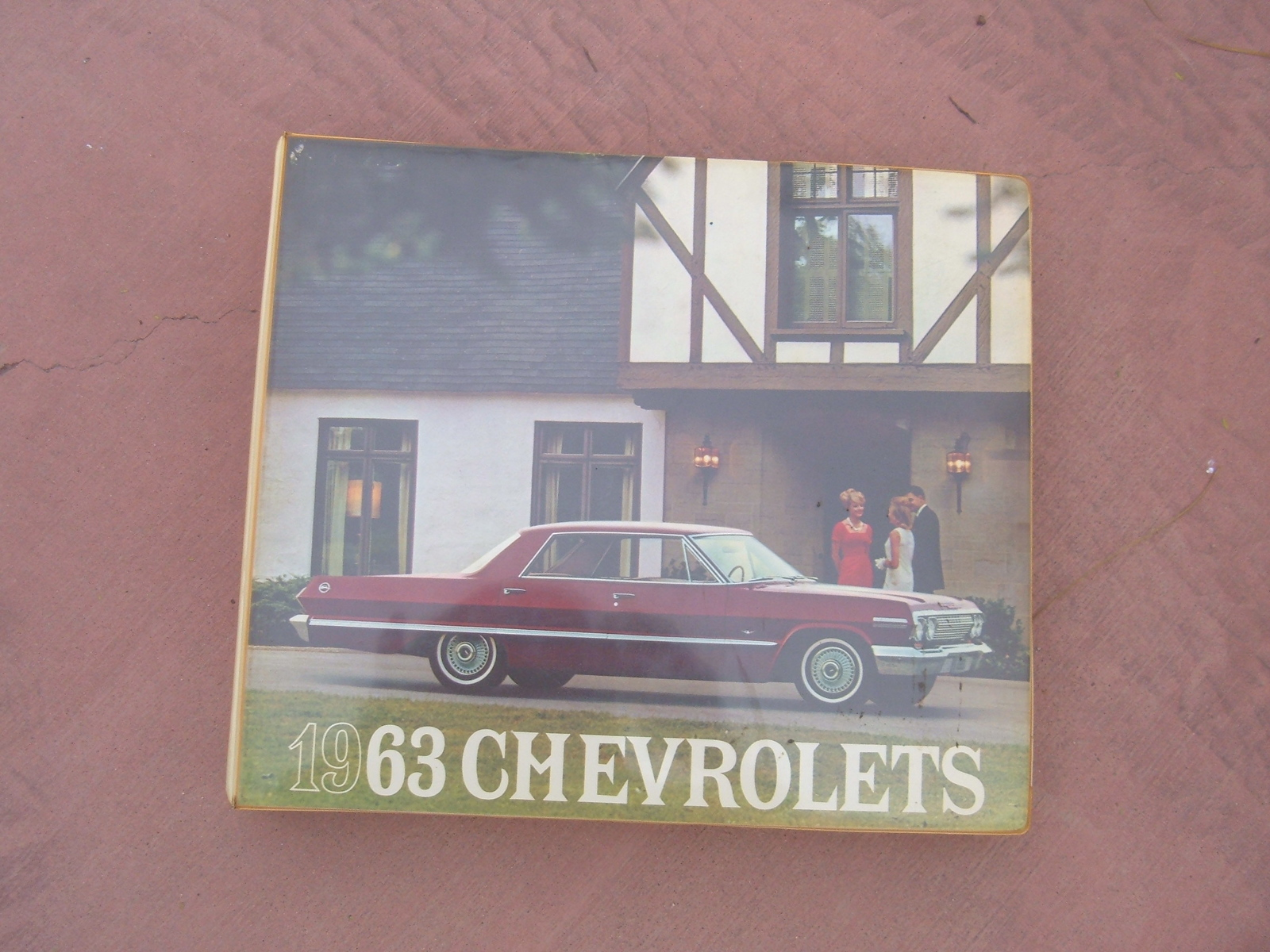 1963 Chevrolet Dealer Showroom Album Corvette nova impala (z
