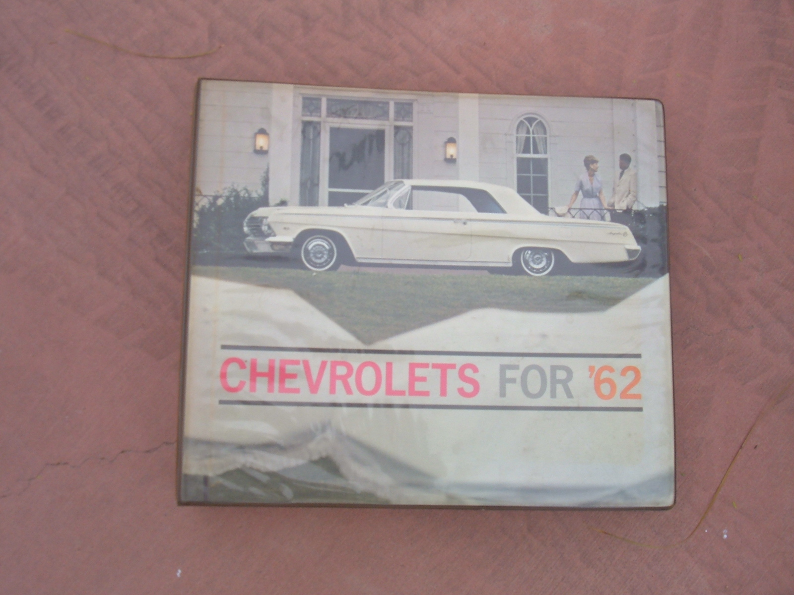 View Product1962 Chevrolet Dealer Showroom Album Corvette nova impala (z