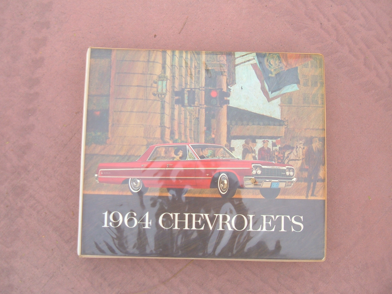 1964 Chevrolet Dealer Showroom Album Corvette chevelle impala (z