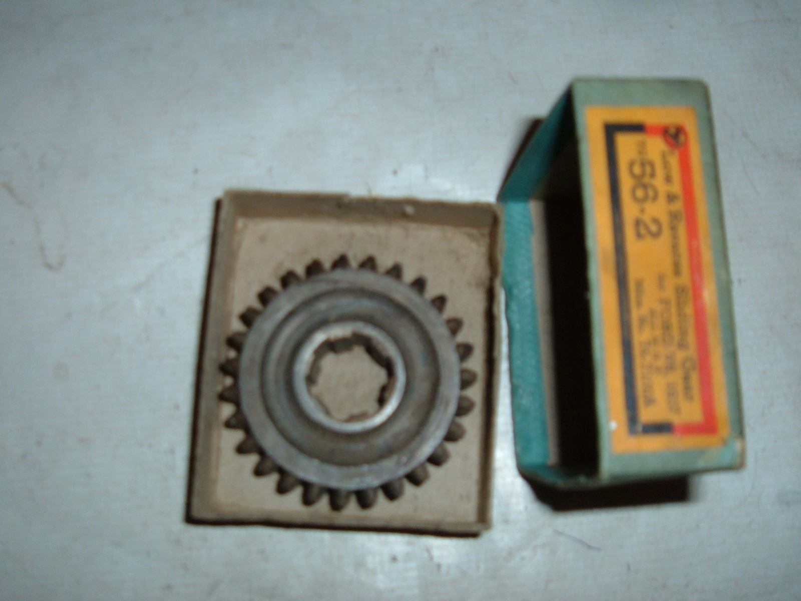 View Product1937 ford transmission low & reverse sliding gear 74-7100-A (z 747100a)