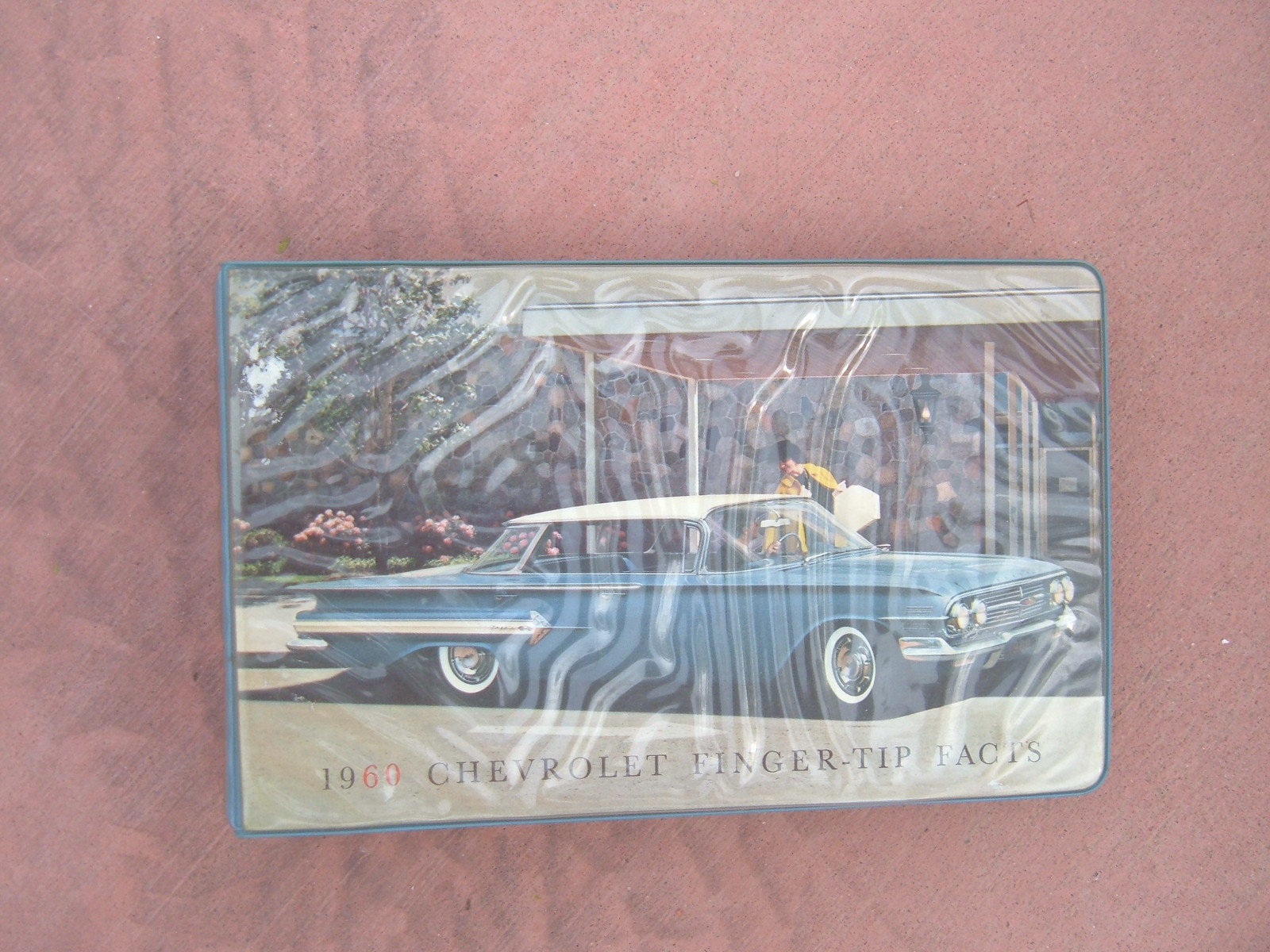1960 chevrolet impala corvair belair fingertip facts booklet (z 60dealer book)