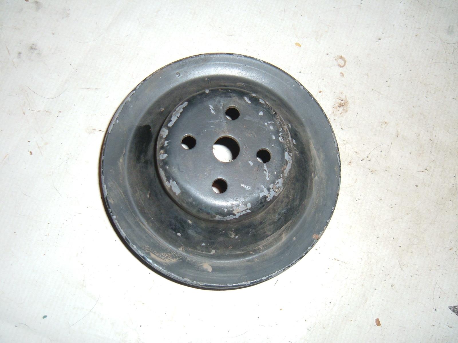 1964 65 66 67 68 corvette chevelle water pump pulley nos gm 3890419