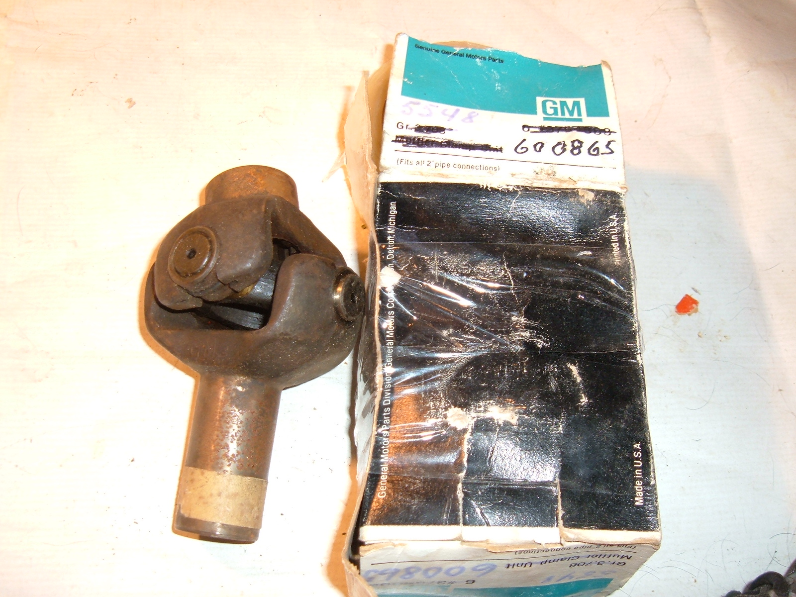 1933 34 35 36 37 38 39 chevrolet truck universal joint nos gm 600865 (z 600685)