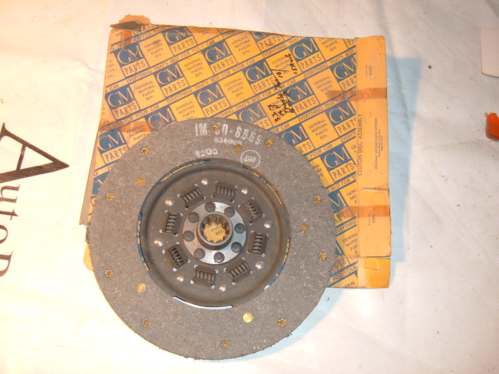 View Product1933 34 35 36 37 chevrolet truck clutch disc nos gm 10 inch 836007 (z 836007)