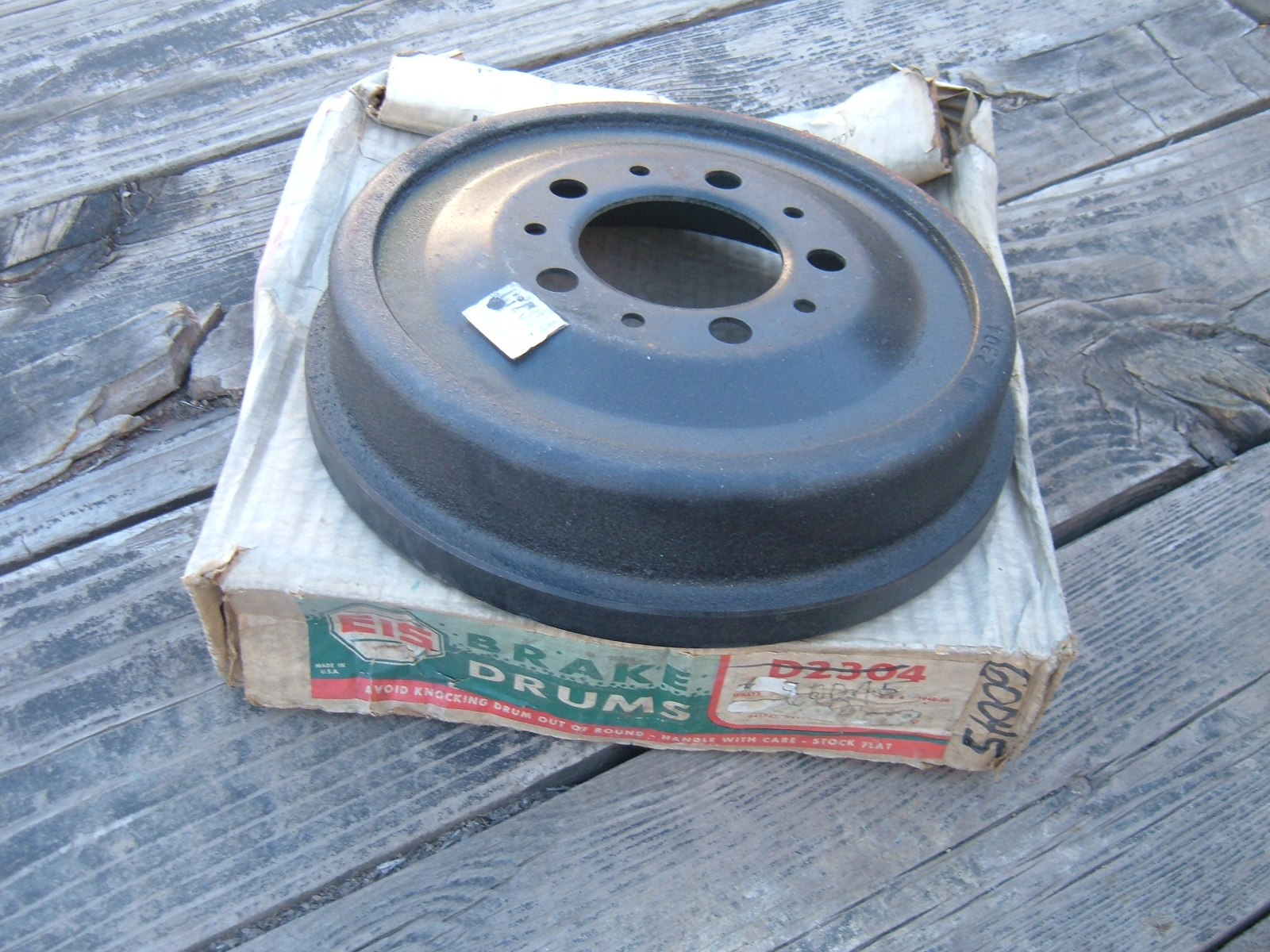 View Product1948 49 50 51 52 53 54 55 56 willys jeep front / rear brake drum new C-2304 (z 2304)