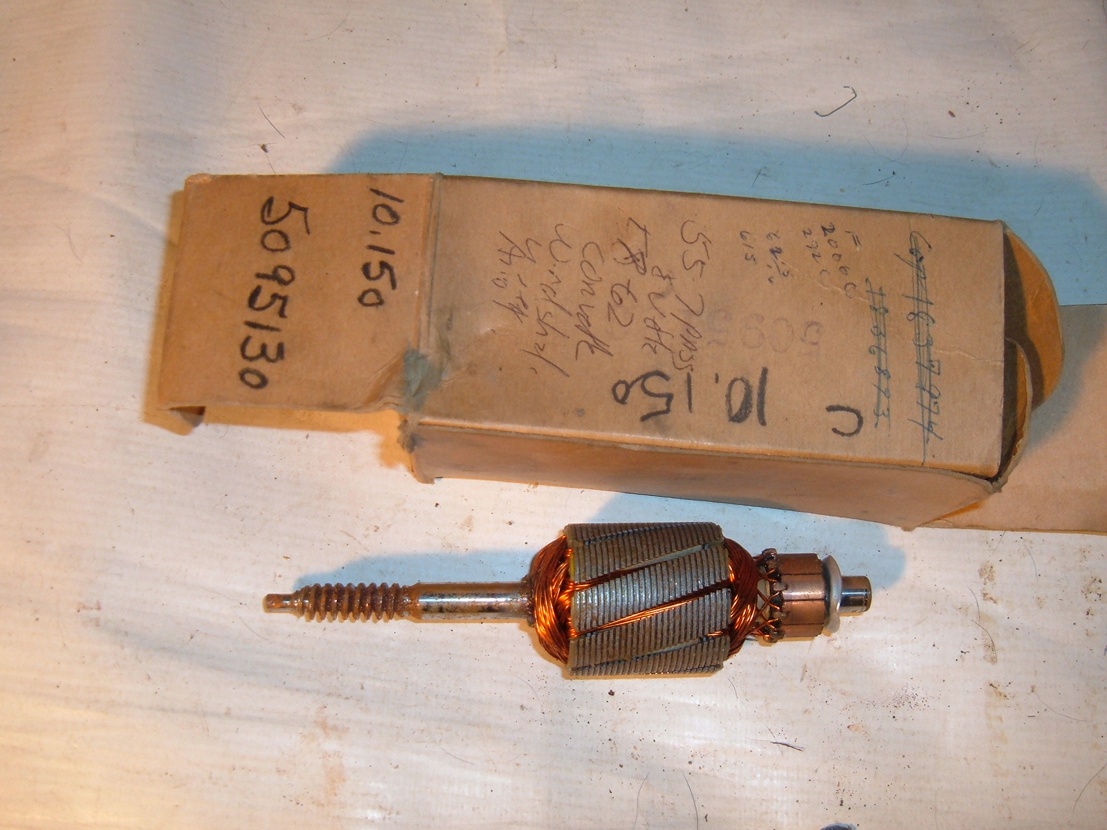 1955 56 57 58 59 60 61 62 corvette pass windshield wiper motor nos gm 5095130 (z 5095130)