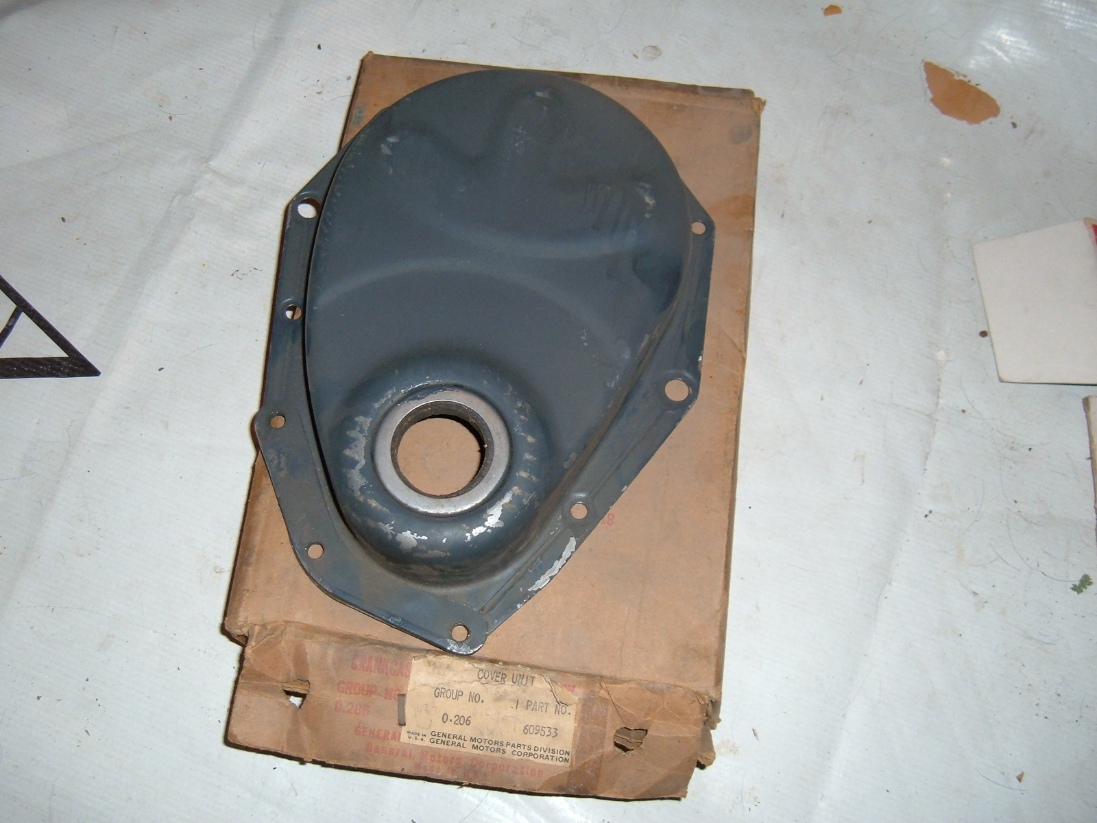 View Product1933 34 35 36 chevrolet engine crankcase cover timing nos gm 609533 (z 609533)