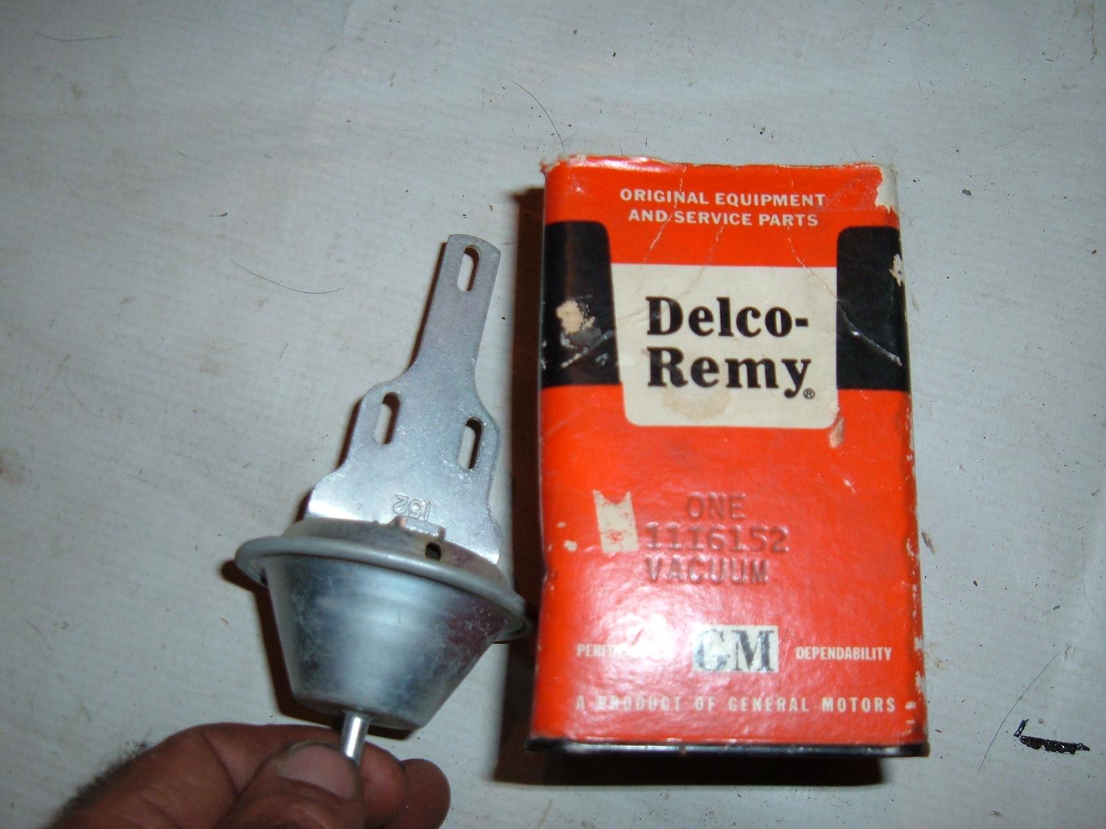 1960 61 chevrolet corvair vacuum advance nos gm 1116152 (z 1116152)