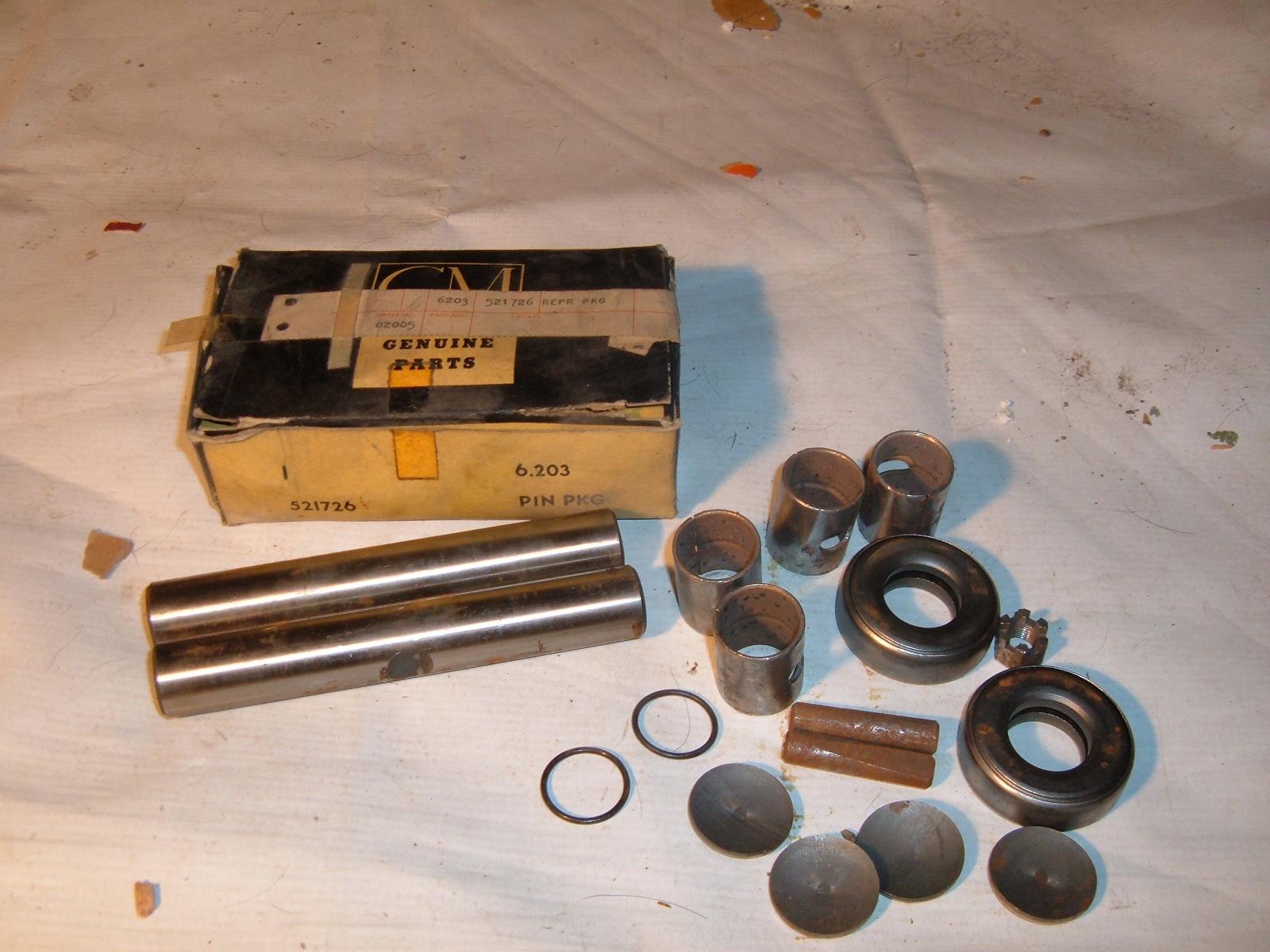 View Product1956 1957 pontiac king pin set nos gm 521726 (z 521726)