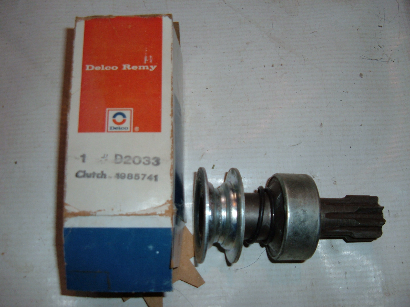 View Productac delco starter drive nos # 1985741 international scout (z 1985741)