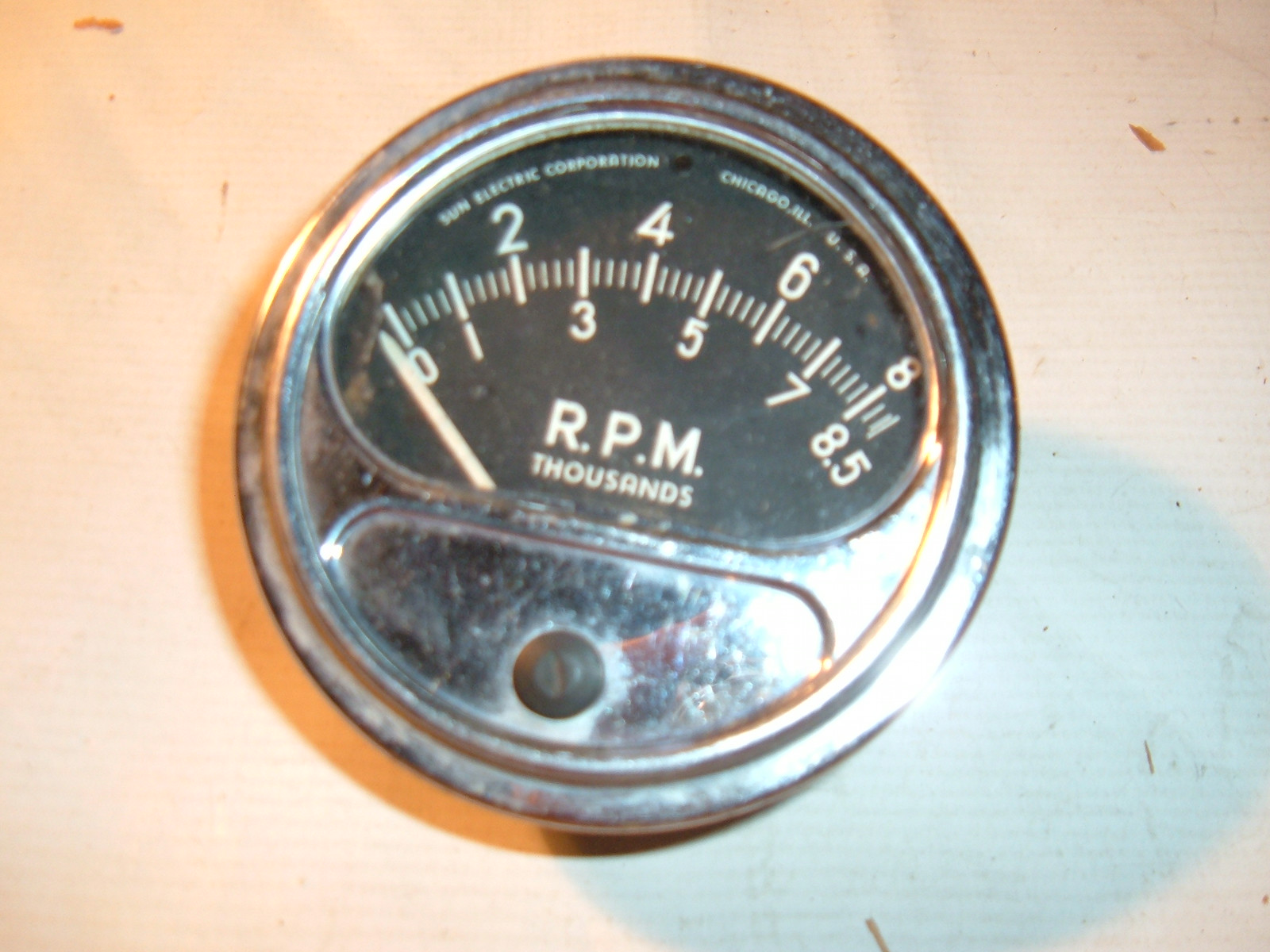 1960 61 62 63 64 65 era sun tachometer RC-85 rc85 good used (z rc-85)