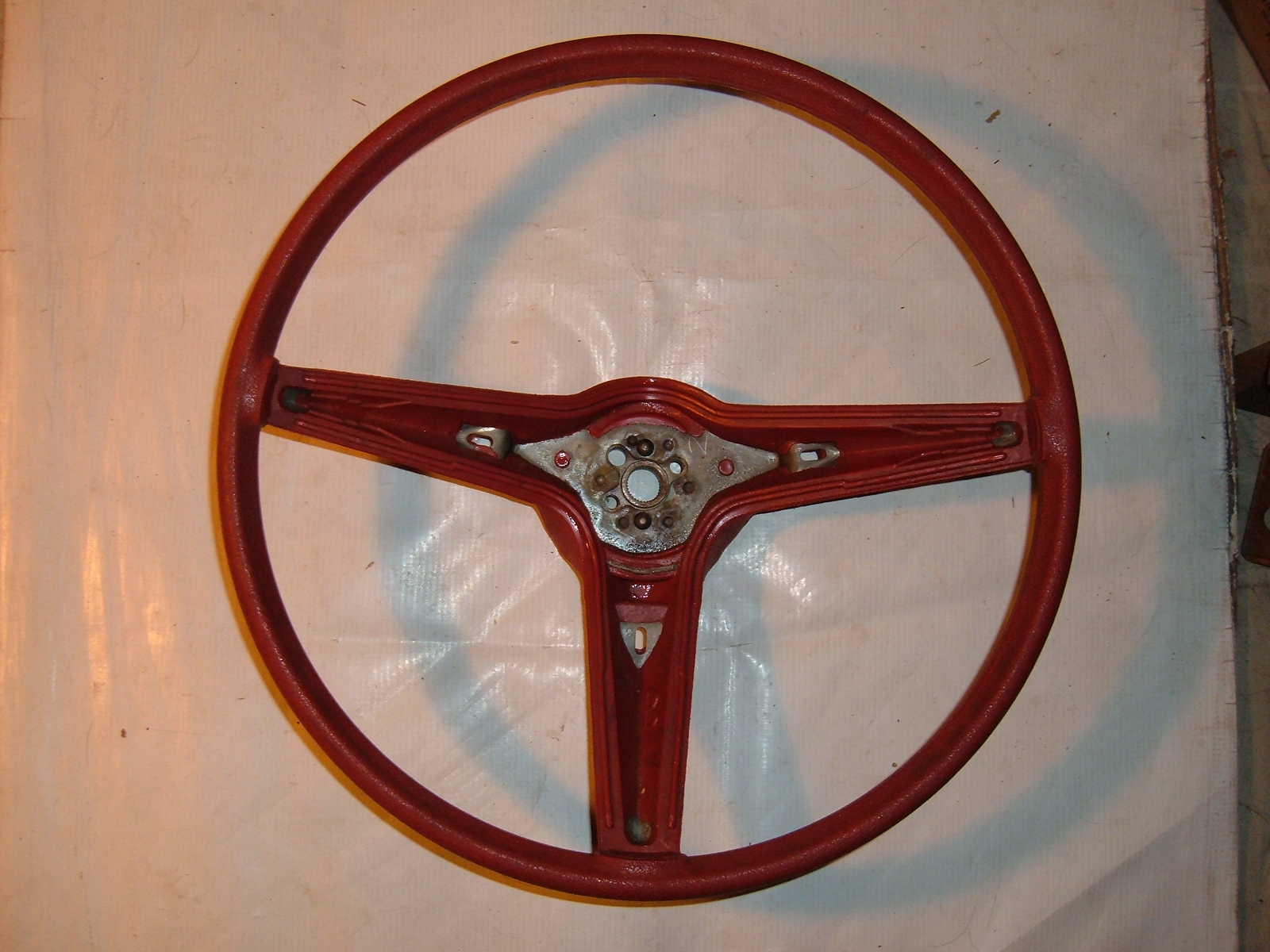 View Product1971 72 73 pontiac red steering wheel nos gm # 9753916 (z 9753916)