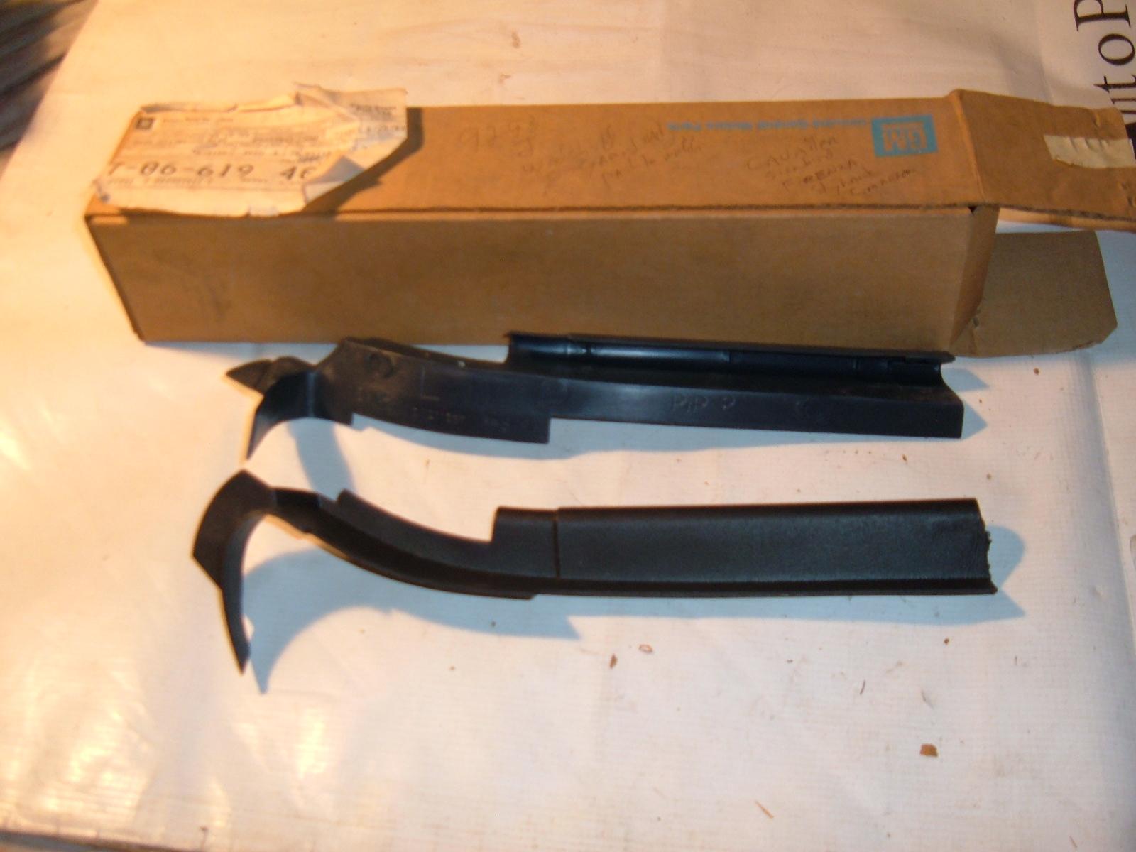 1992 93 cavalier firenza cimarron windshild moldings 20550861 (z 20550861)