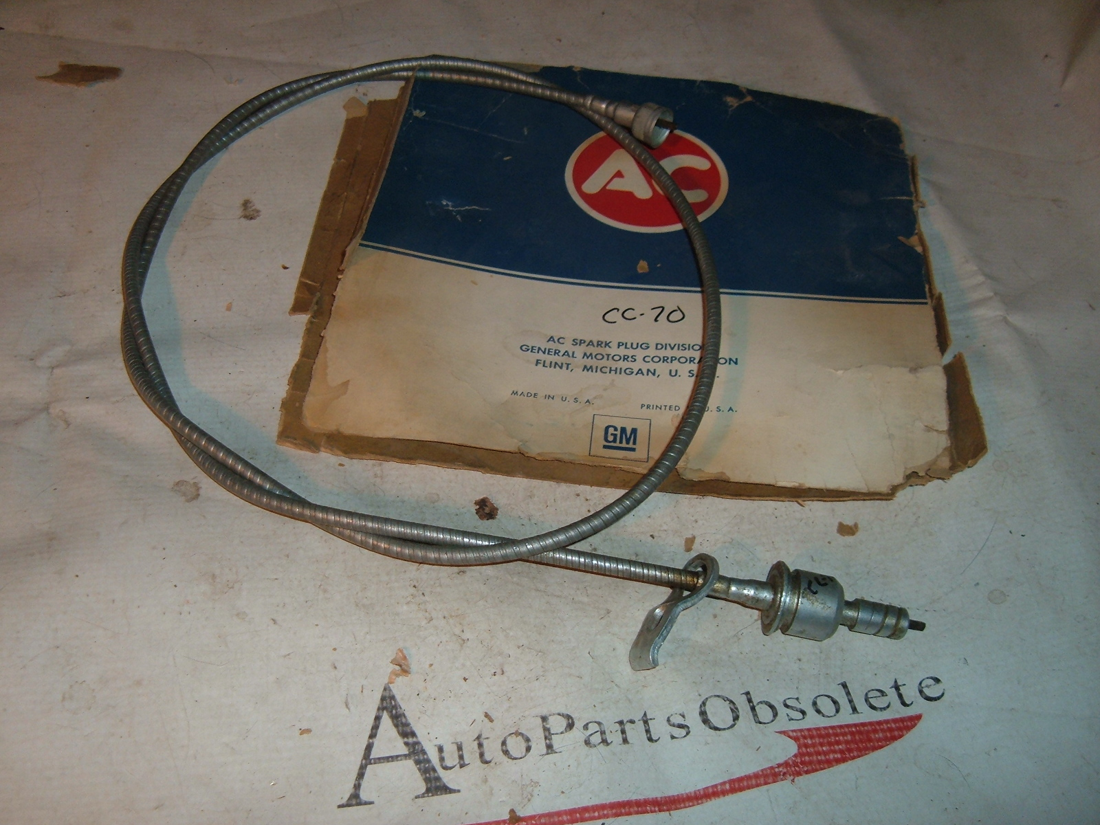 View Product1965 67 68 69 70 71 rambler amc speedometer cable & casing ac delco # CC-70